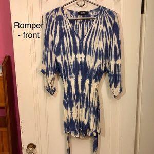 New w/ Tags Lulu's Tie-Dye Romper Size S